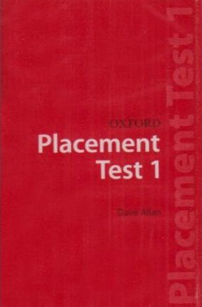Oxford Placement Tests: Test pack 1