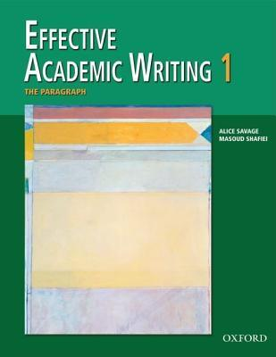 Effective Academic Writing: Paragraph v. 1