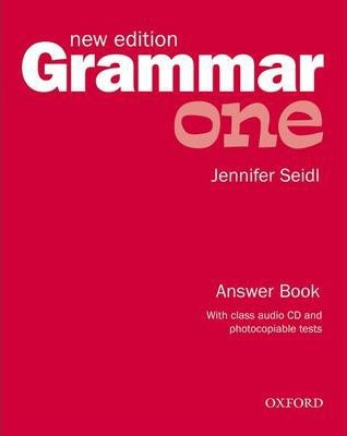 Grammar: One: Answer Book and Audio CD Pack