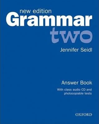 Grammar: Two: Answer Book and Audio CD Pack