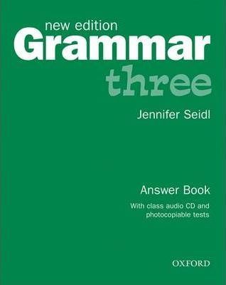 Grammar: Answer Book and Audio CD Pack Level 3