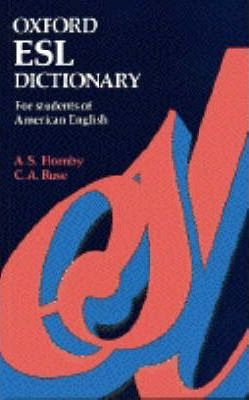 Oxford English as a Second Language Dictionary