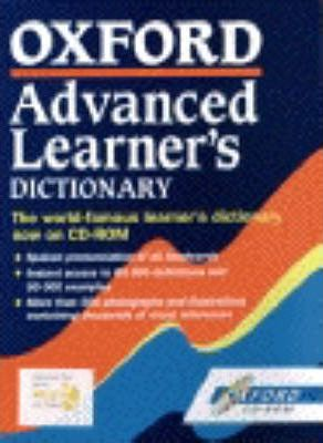 Oxford Advanced Learner's Dictionary 5th Edition on CD-Rom: CD-Rom