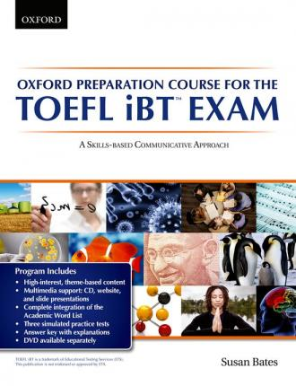 Oxford Preparation Course for the TOEFL iBTÂ Exam: Student's Book Pack with Audio CDs and website access code