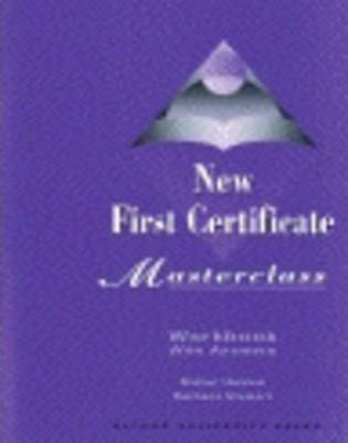 New First Certificate Masterclass: Workbook (With Answers)