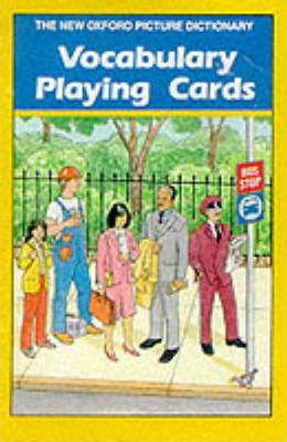 The New Oxford Picture Dictionary: Vocabulary Playing Cards