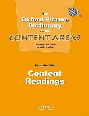 Oxford Picture Dictionary for the Content Areas: Content Readings