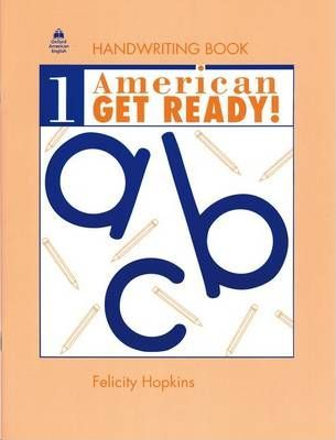 American Get Ready!: Handwriting Book Level 1