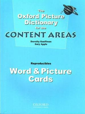 Oxford Picture Dictionary for the Content Areas: Word and Picture Cards