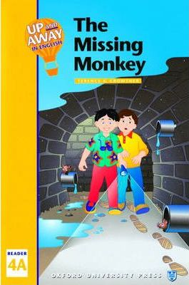 Up and Away in English: The missing monkey Level 4
