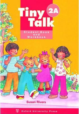Tiny Talk: Combined Student Book A and Workbook A (Wordless Edition) Level 2