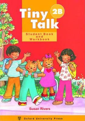 Tiny Talk: Combined Student Book B and Workbook B (Wordless Edition) Level 2