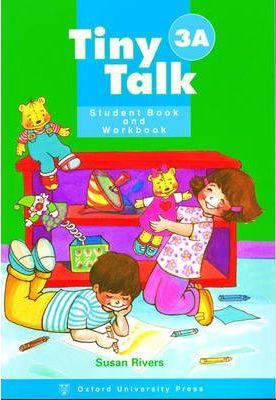 Tiny Talk: Combined Student Book A and Workbook A (wordless Edition) Level 3