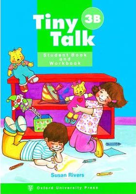 Tiny Talk: Combined Student Book B and Workbook B (wordless Edition) Level 3