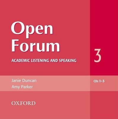 Open Forum 3: Audio CDs (3)