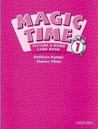 Magic Time: 1: Picture & Word Card Book
