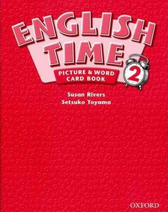 English Time: Picture and Word Card Book Level 2