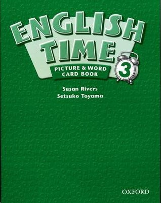 English Time: Picture and Word Card Book Level 3