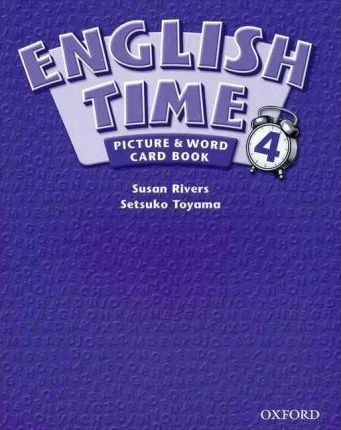 English Time: Picture and Word Card Book Level 4