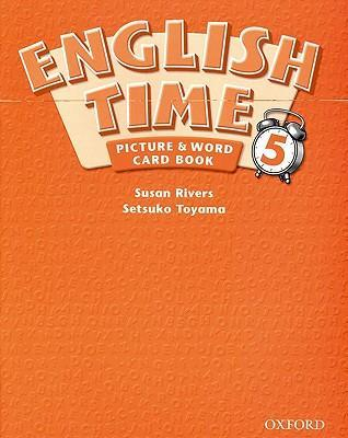 English Time: Picture and Word Card Book Level 5