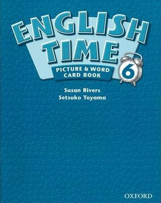 English Time: Picture and Word Card Book Level 6