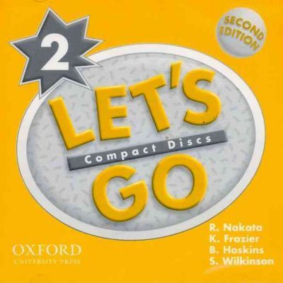 Let's Go: 2: Audio CD