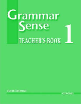 Grammar Sense: Teacher's Book Level 1