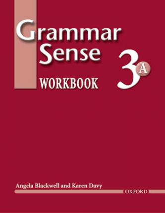 Grammar Sense 3:: Workbook 3 Volume A