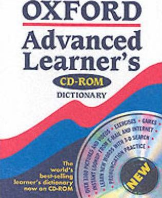 Oxford Advanced Learner's Dictionary: Single User Licence
