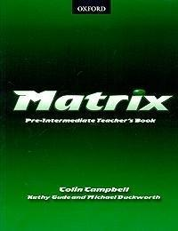 Matrix Pre-Intermediate: Teacher's Book