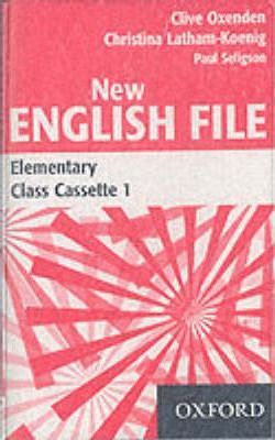 New English File: Class Cassettes Elementary level