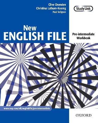 New English File Pre Intermediate Workbook Clive Oxenden 9780194384360