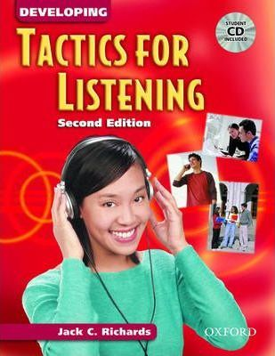 Tactics for Listening: Developing Tactics for Listening: Student Book with Audio CD