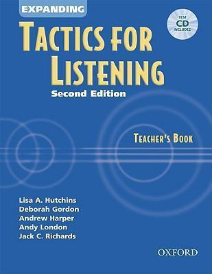 Tactics for Listening: Expanding Tactics for Listening: Teacher's Book with Audio CD