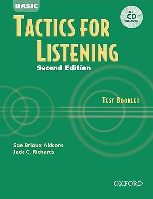 Tactics for Listening: Basic Tactics for Listening: Test Booklet with Audio CD