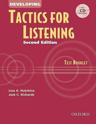 Tactics for Listening: Developing Tactics for Listening: Test Booklet