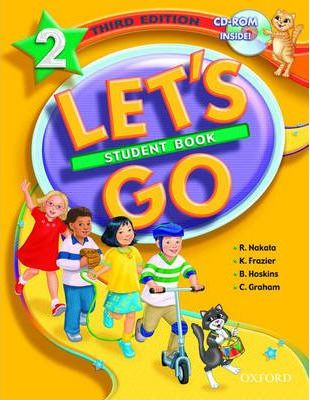 Let's Go: 2: Student Book with CD-ROM Pack