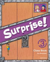 Surprise! 3 Class Book + multi-ROM
