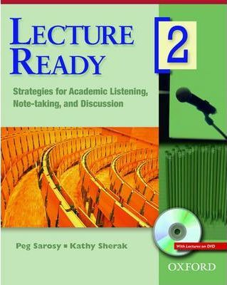 Lecture Ready 2 Student Book with DVD