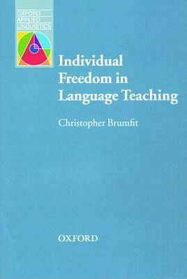 Individual Freedom in Language Teaching