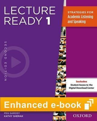 Lecture Ready Second Edition: 1: e-Book - Buy in-App