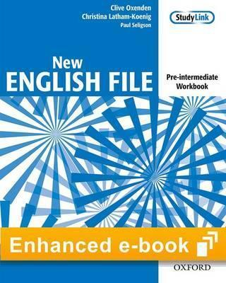Iportfolio in-App English File Pre-Intermed Workbook with Key(Limited&Perpetual)