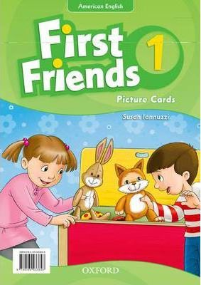 First Friends (American English): 1: Picture Cards