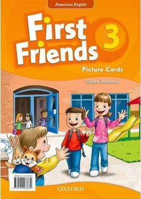 First Friends (American English): 3: Picture Cards