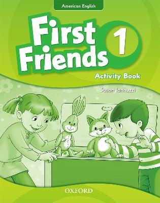 First Friends (American English): 1: Activity Book