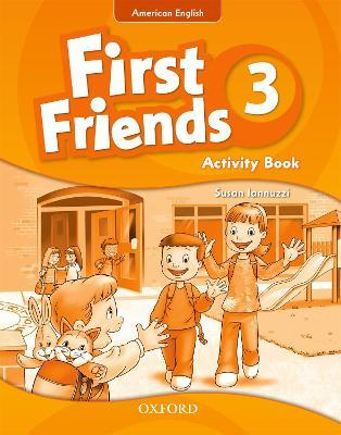 First Friends (American English): 3: Activity Book