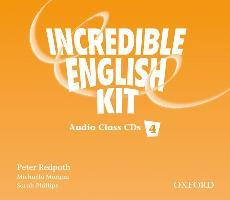 Incredible English 4: Class Audio CD
