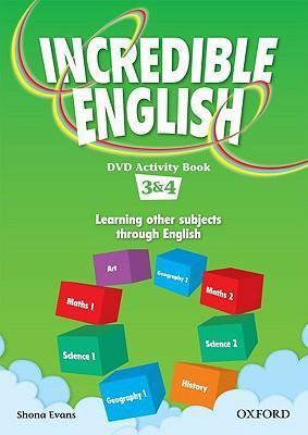 Incredible English: 3 & 4: DVD Activity Book