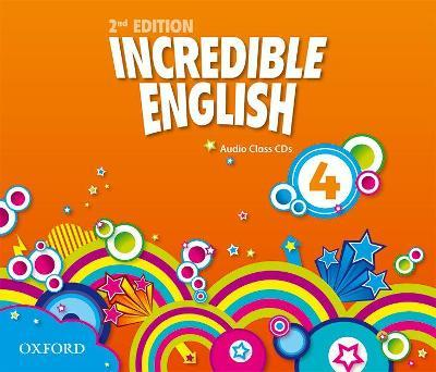 Incredible English: 4: Class Audio CDs (3 Discs)