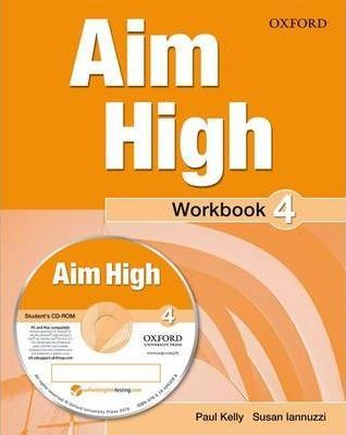 Aim High Level 4 Workbook & CD-ROM